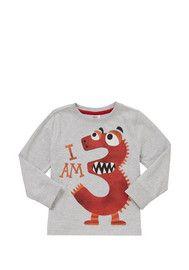 F&F I Am 3 Long Sleeve T-Shirt