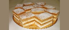 Prajitura Albinita Romanian Food, Vanilla Cake, Gem, Food And Drink, Sweets, Bread, Cooking, Desserts, Foodies