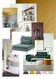 Moodboard for our living room