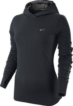 Nike Racer Women's Long Sleeve Hooded Running Top - FA14: Amazon.co.uk: Clothing