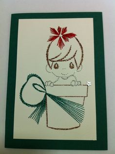 Photo: Embroidery Cards, Hand Embroidery, Card Patterns, Stitch Patterns, Embroidered Paper, Paper Art, Paper Crafts, Sewing Cards, Thread Art