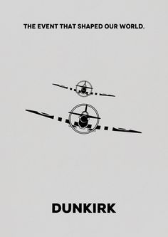 Dunkirk (2017) ~ Minimal Movie Poster by Vikrant Banerjee #amusementphile