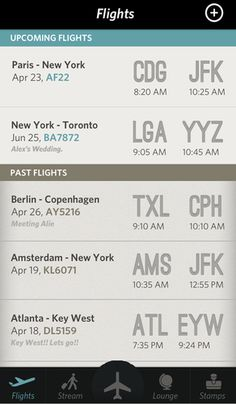 3 | An iPhone Flight App Straight Out Of The Pan Am Era | Co.Design: business + innovation + design