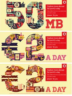 Vodafone campaign on Behance