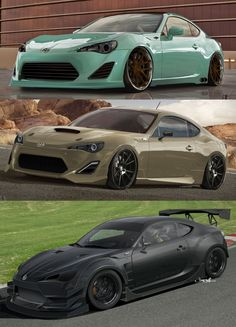 Scion FR-S the top two I like minus the black one.. don't care for the wing #ForTheDriven #Scion #Rvinyl  =========================== http://www.rvinyl.com/Scion-Accessories.html