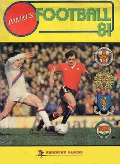 Panini's Football '81 (Front Cover)