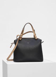 a512c701d6c8 Small Soft Cube bag in smooth calfskin - Céline