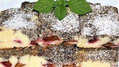 Hrnčeková maková bublanina so slivkami Sponge Cake, Food And Drink, Drinks, Cakes, Poppy, Drinking, Beverages, Cake Makers, Biscuit Cake