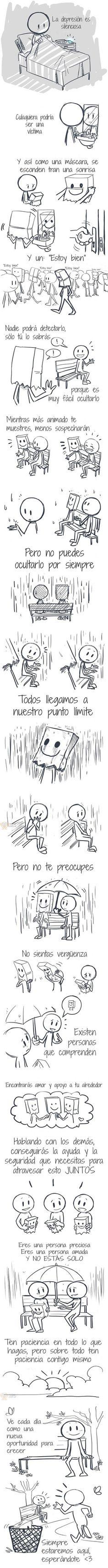 Imagen Larga: La historia de la Depresión http://yeow.com.ar/2014/10/imagen-larga-la-historia-de-la-depresion.html #-- La depresión no es algo sencillo y afecta a muchos. En esta imagen larga, conocerás una historia de depresión y como salir adelante fácilmente.