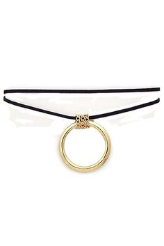 Chic Couture Online - 2 Suede Choker Necklace With Gold Circle Charm.(http://www.chiccoutureonline.com/2-suede-choker-necklace-with-gold-circle-charm/)