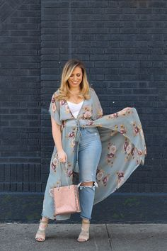 b064865714b 25 Items From Target You Need for Summer. Floral DusterMesh TopsSheer Mesh  TopKimono OutfitZara BagsMom JeansDustersClassy ...