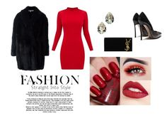 """""""Untitled #193"""" by mersiha-ceperkovic ❤ liked on Polyvore featuring Yves Saint Laurent, McQ by Alexander McQueen and Jouer"""