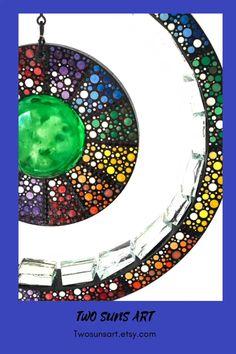 Mosaic Garden, Mosaic Art, Garden Art, Diy Crafts Love, Diy Crafts For Adults, Mandala Painting, Dot Painting, Creation Deco, Kinetic Art