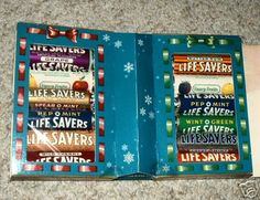 "Lifesaver ""book.""   Now that is what a real lifesaver book looks like!"