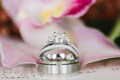 Pretty 3-stone ring: http://www.stylemepretty.com/destination-weddings/2015/07/15/romantic-hawaiian-elopement-in-waipio-valley/ | Photography: Rebecca Arthurs - http://www.rebecca-arthurs.com/