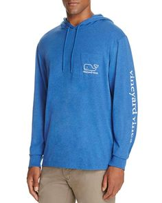 Vineyard Vines Heathered Whale Pullover Hoodie