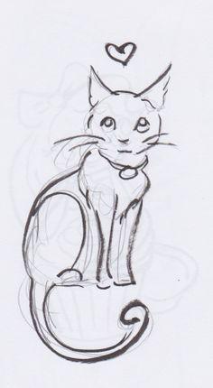 kitten. tattoo