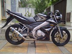 Modifikasi motor Vixion  tahun 2009 secara minimalis
