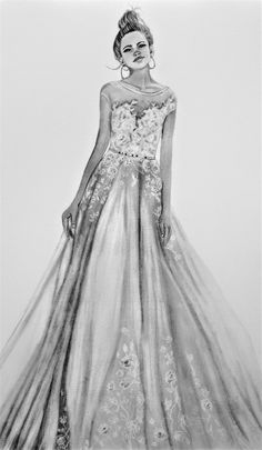 Beautiful dress. 9x17 graphite Formal Dresses, Wedding Dresses, Graphite, My Drawings, Beautiful Dresses, Ball Gowns, Art, Fashion, Dresses For Formal