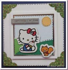 Hello Kitty Birthday card.