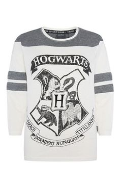 Harry Potter Raglan Sleeve PJ Top