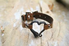 Iron Nail Bracelet Personalized Bracelet Hand by AlchemyArtworks