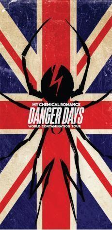 My Chemical Romance Danger Days Poster
