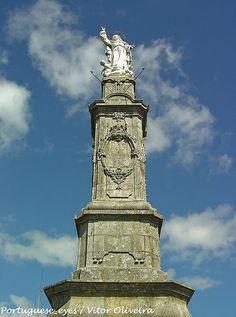 Estátua de Nossa Senhora da Assunção - Santa Marta das Cortiças - Portugal