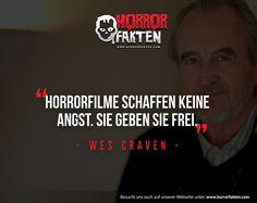 Zitat von Wes Craven  #horrorfakten