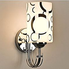 Simple Modern Wall Sconce LED Wall Light For Home Bedroo Bedside Wall Lamp Indoor Lighting Lampara Pared Glass Metal Bedroom Vanity Lamps, Bathroom Wall Sconces, Modern Wall Sconces, Bedroom Wall, Light Bathroom, Glass Bathroom, Bathroom Lighting, Wall Mount Light Fixture, Wall Fixtures