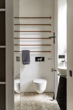 Gallery of Guculska Apartment / replus design bureau - 19 Modern Bathroom, Toilet, Gallery, Design, Batcave, Bathrooms, Detail, Funky Bathroom, Flush Toilet