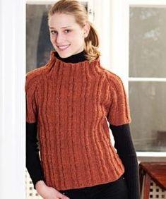 Kortärmad raglanjumper Baby Set, Jumper, Raglan, Turtle Neck, Sweaters, Knitting, Fashion, Branding, Scale Model