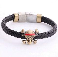 One Piece Bleach anime bracelet skull logo braid bracelet bracelet wholesale manufacturers