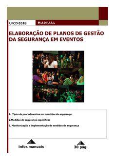 0518. Elaboração de planos de gestão da segurança em eventos