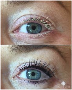 LVL Lashes before and after