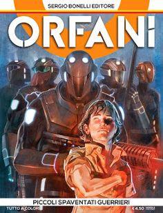 Orfani #1 piccoli spaventati guerrieri compertina cover