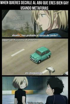 Memes de Yuri On Ice, pasa, se que quieres ( ͡° ͜ʖ ͡°)