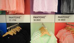 organized by pantone color! #merchandisingIdeas