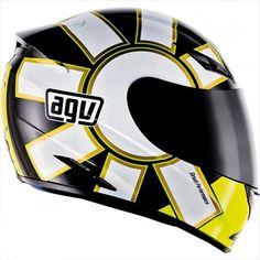 AGV offer the best AGV K3 Series Full Face Motorcycle Helmet Gothic Black Small S