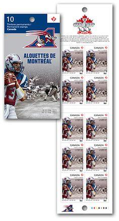 Canada Post - ALOUETTES DE MONTRÉAL BOOKLET OF 10 - buy stamps