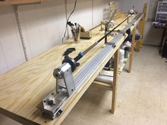 My new wrapping bench built 12/31/2014.