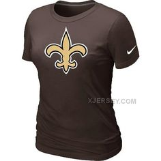 http://www.xjersey.com/new-orleans-sains-brown-womens-logo-tshirt.html Only$26.00 NEW ORLEANS SAINS BROWN WOMEN'S LOGO T-SHIRT #Free #Shipping!