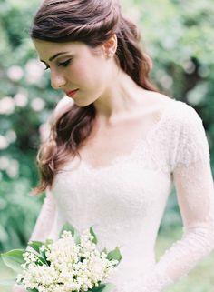 Natural Outdoor Nashville Wedding with oncewed.com