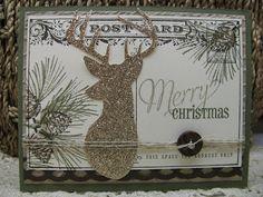Giddy Stamper: Merry Christmas Deer ~ DD78 & FM135