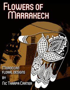Henna Book Wish List. Henna design book: Flowers of Marrakech by IndigoandAmber on Etsy