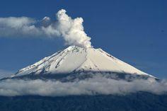 My espacio posterous: Atentos al derrame de lava del volcán Popocatépetl