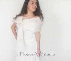 Ivory Bridal Cover Up Wedding Bolero Ivory Shrug Crochet