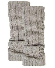 Weave Knit leg warmers