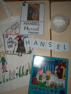 """Sac à album """"Hansel et Gretel"""""""