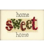 Dimensions Home Sweet Home Punch Needle Kit